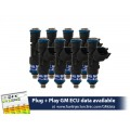 1000cc FIC Fuel Injector Clinic Injector Set for 4.8/5.3/6.0 Truck Motors ('99-'07) (High-Z)
