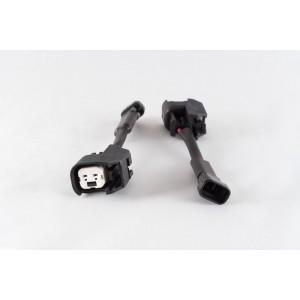 Set of 8 US Car/EV6 (female) to GM/Delphi (male) injector plug adaptors