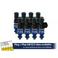 1100cc FIC Fuel Injector Clinic Injector Set for 4.8/5.3/6.0 Truck Motors ('99-'07) (High-Z)
