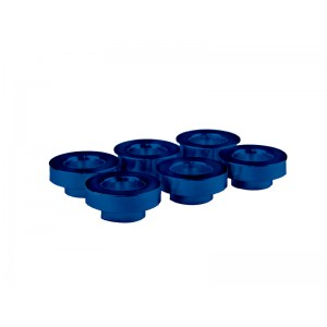 6 x FIC blue anodized Toyota Supra VVTi manifold bungs