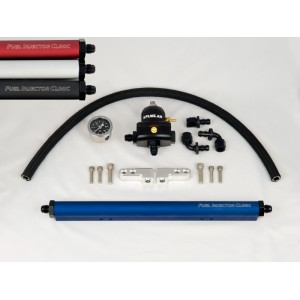 Complete Evo 8/9 Fuel Rail Kit With -6 AN Fittings