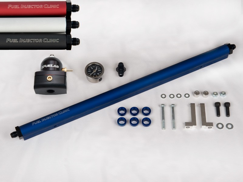 Toyota Supra 2JZ-GTE Fuel Kit With -6 Fittings