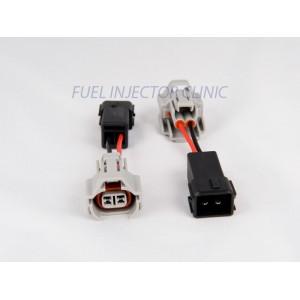 Set of 6 Denso (female) to Honda OBD2 (male) injector plug adaptors