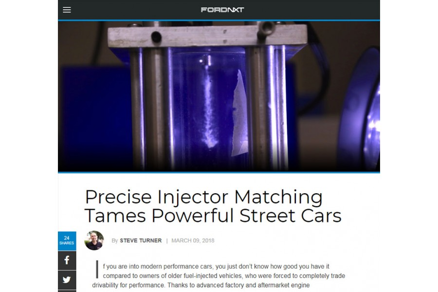 FordNXT feature on Fuel Injector Clinic's Injectors