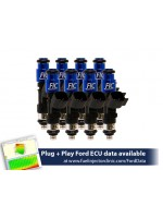 1000cc (95 lbs/hr at 43.5 PSI fuel pressure) FIC Fuel   Injector Clinic Injector Set for Ford F150 (1985-2003)/Ford Lightning (1993-1995)