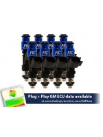 1000cc (100 lbs/hr at OE 58 PSI fuel pressure) FIC Fuel  Injector Clinic Injector Set for LS1 engines (High-Z)