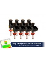 1440cc (160 lbs/hr at OE 58 PSI fuel pressure) FIC Fuel Injector Clinic Injector Set for LS3, LS7, L76, L92, and L99 engines (High-Z)
