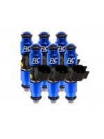 1440cc FIC Fuel Injector Clinic Injector Set for VW / Audi (6 cyl, 64mm) (High-Z)