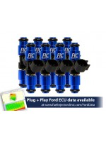 1650cc (160 lbs/hr at 43.5 PSI fuel pressure) FIC Fuel  Injector Clinic Injector Set for Ford F150 (1985-2003)/Ford Lightning (1993-1995)