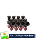 2150cc (240 lbs/hr at OE 58 PSI fuel pressure) FIC Fuel  Injector Clinic Injector Set for LS3, LS7, LSA, L76, L92, and L99 engines (High-Z)
