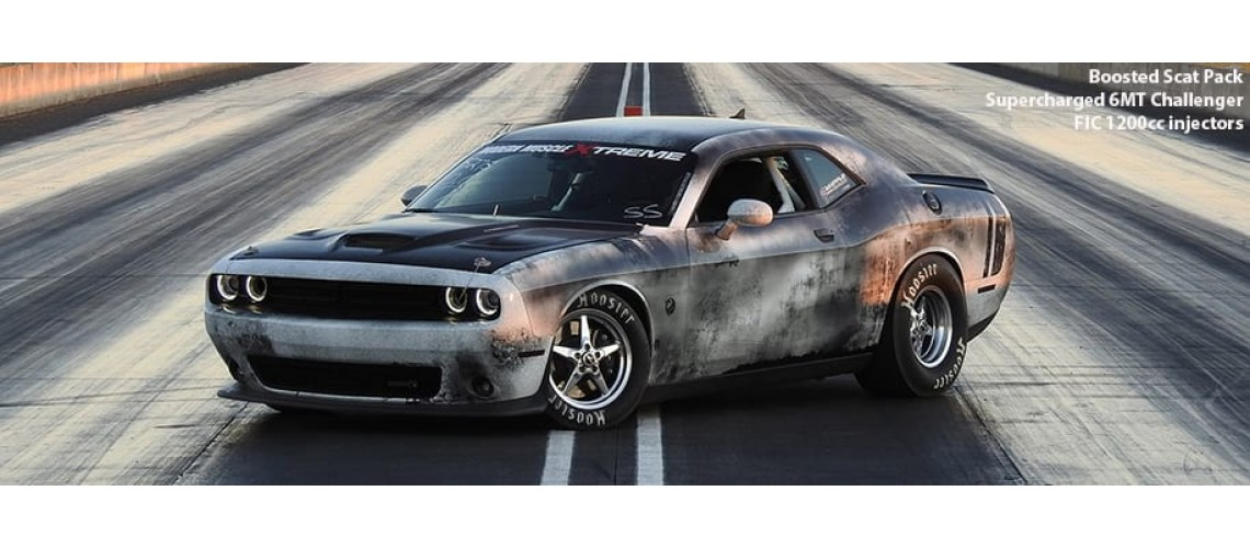 Boosted Scat Pack