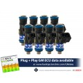 1650cc FIC Fuel Injector Clinic Injector Set for Dodge Viper ZB1 ('03-'06)