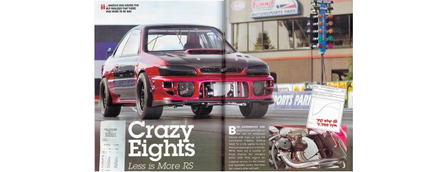 Ben Marcus and his Crazy 2.5 RS. DSPORT Magazine