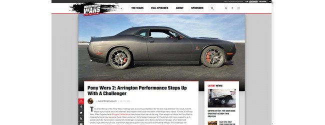 Arrington Performance's Build on Horsepower Wars Featuring FIC!