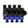 1440cc (140 lbs/hr at 43.5 PSI fuel pressure) FIC Fuel  Injector Clinic Injector Set for Ford Shelby GT500 (2007-2014)