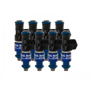 1200cc (130 lbs/hr at OE 58 PSI fuel pressure) FIC Fuel Injector Clinic Injector Set for Dodge Hemi SRT-8, 5.7, Hellcat (High-Z)