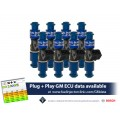 1650cc (180 lbs/hr at OE 58 PSI fuel pressure) FIC Fuel Injector Clinic Injector Set for LS1 engines (High-Z)