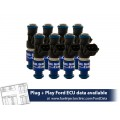2150cc (200 lbs/hr at 43.5 PSI fuel pressure) FIC Fuel  Injector Clinic Injector Set for Ford Shelby GT500 (2007-2014)